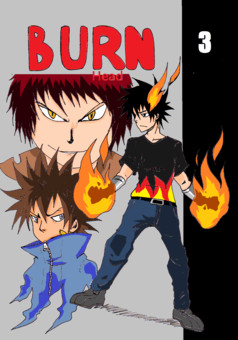 Burn Head : manga couverture