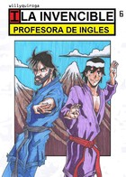 La invencible profesora: cover