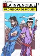 La invencible profesora: portada