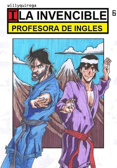 La invencible profesora : comic cover
