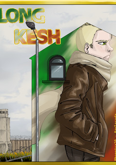 Long Kesh : comic couverture