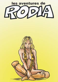 Les aventures de Rodia : comic cover