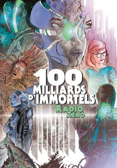 100 milliards d'immortels : comic couverture