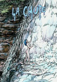 La chute : comic cover