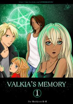 Valkia's Memory : manga couverture