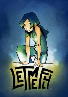 Let me Fly : manga portada