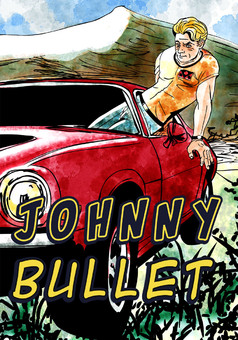 Johnny Bullet : comic couverture