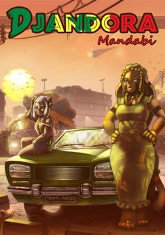 Djandora Mandabi : comic couverture