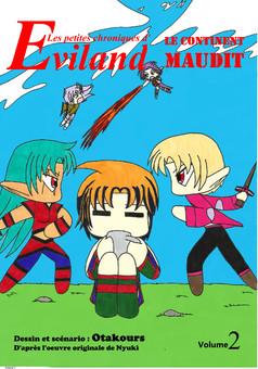 Les petites chroniques d'Eviland : manga couverture