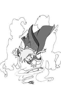 Equestrian Wind Mage : manga cover