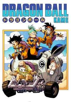 Dragonball Kame : manga couverture