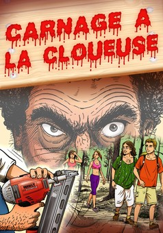 Carnage à la Cloueuse : comic couverture