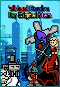 Virtual Realm for Digital Men : comic couverture