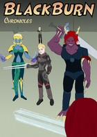 Black Burn Chronicles: portada
