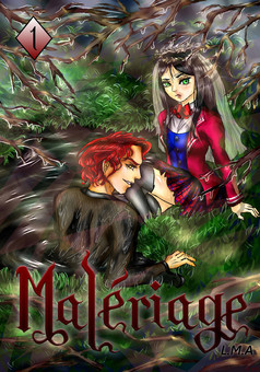 Malériage : manga cover