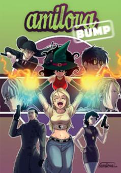 Amilova : artworks : manga portada