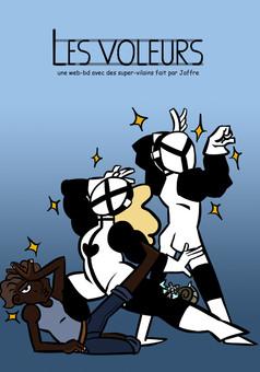 Les Voleurs : comic couverture