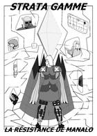 Stratagamme l'histoire de Manalo: couverture
