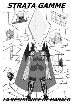 Stratagamme l'histoire de Manalo : manga couverture