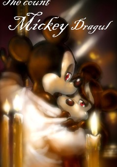 The count Mickey Dragul : comic couverture