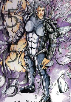 555 : comic cover
