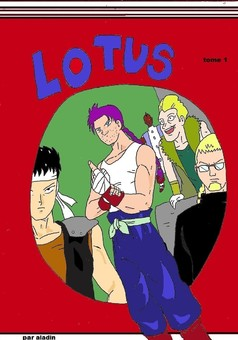 LOTUS : manga couverture