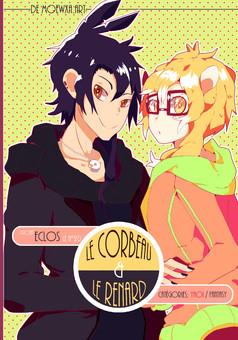 Le corbeau et le renard : manga couverture