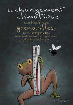 Le changement climatique expli… : manga couverture