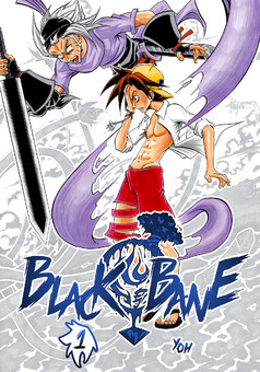 BLACK BANE : manga couverture