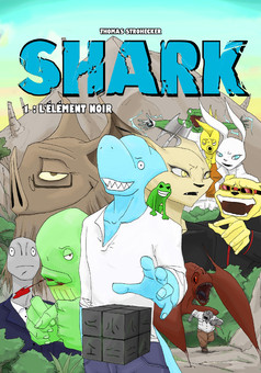 SHARK  : manga couverture