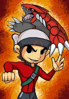 Pokémon : La quête du saphir : manga couverture