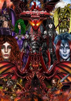 Gothika: Peaccatum Omnia : comic cover