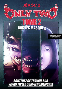 Only Two-TOME 2-Bas les masques : manga couverture