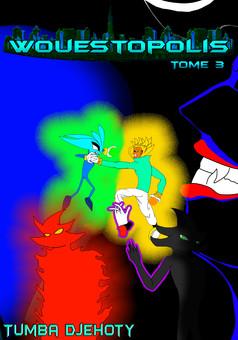 Wouestopolis : manga cover