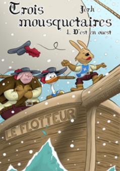 Trois Mousquetaires : comic couverture
