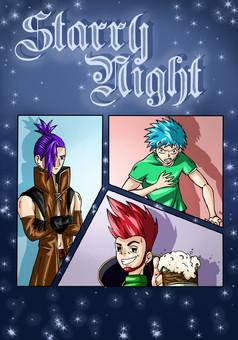 STARRY NIGHT : manga cover