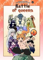 The Battle of the Queens: cover