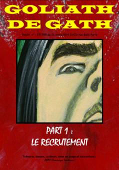 Goliath de Gath : manga couverture