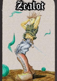 Zealot : Terre Battue : manga couverture