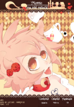 Momo ma jolie mélodie : manga cover
