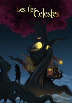 Les îles célestes : comic couverture