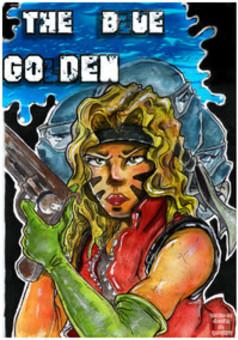 The blue golden : manga portada