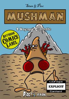 Mushman : comic couverture