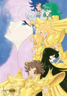 Legado de Ouro : manga cover