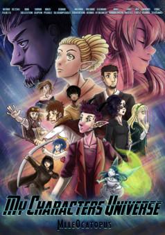 MCU - My Characters Universe : manga couverture