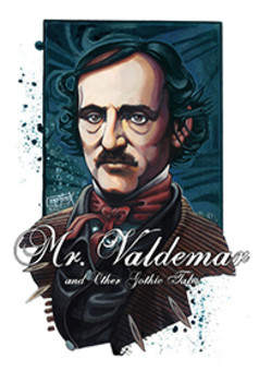 Mr. Valdemar and O. Gothic Tales : comic portada