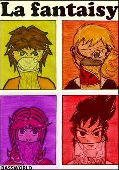 La Fantaisy : manga couverture