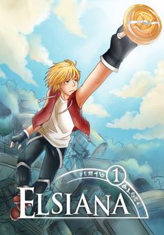 Elsiana : manga couverture
