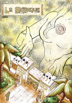 La Marque manga : manga couverture