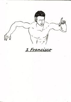 Francisco  : manga couverture